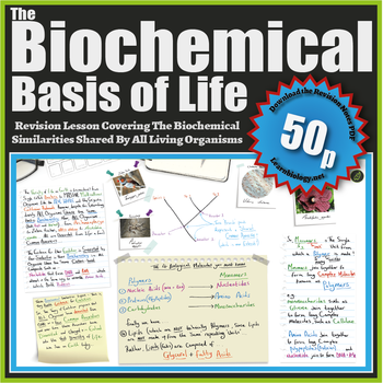 The Biochemical Basis of Life: A-Level Biology Revision Notes
