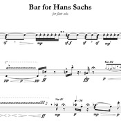 Bar for Hans Sachs