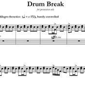Drum Break (with optional live electronics)