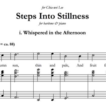 Steps Into Stillness