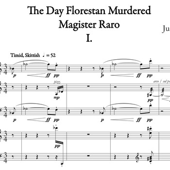 The Day Florestan Murdered Magister Raro