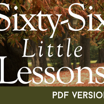 Sixty-Six Little Lessons - the PDF
