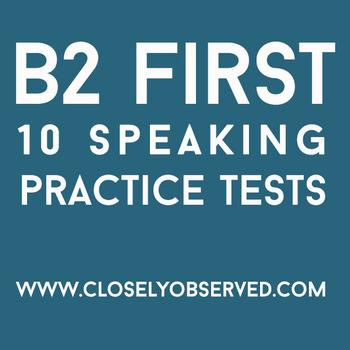 B2 First - 10 Speaking Tests
