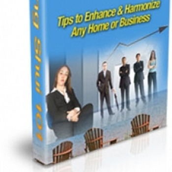 How to enhance and hormonize home or business with  feng-shui.