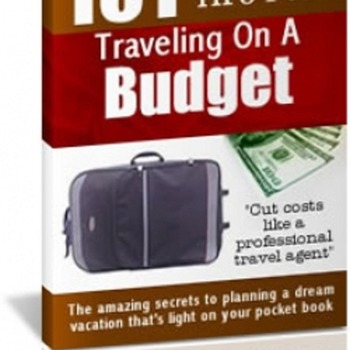 How to travel around world on a budget - tips, tricks to save money.