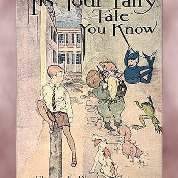 21 Classic Children's Illustrations by L. E. W. KATTELLE from IT'S YOUR FAIRY TALE YOU KNOW