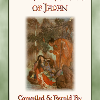 28 Classic Children's Illustrations in colour by F. HADLAND DAVIS from MYTHS & LEGENDS OF JAPAN