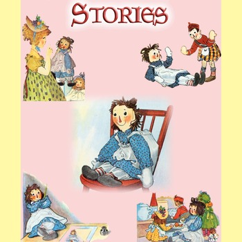 58 Classic Children's Illustrations from the RAGGEDY ANN stories written and illustrated by JOHNNY GRUELLE
