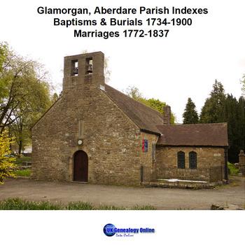 Glamorgan, Aberdare Parish Register Indexes