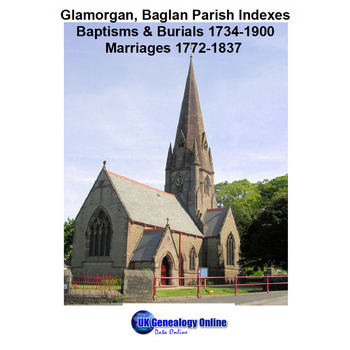 Glamorgan Baglan  Parish Indexes 1734-1900