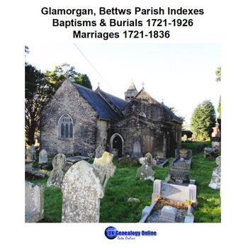 Glamorgan, Bettws Parish Register Indexes 1721-1936