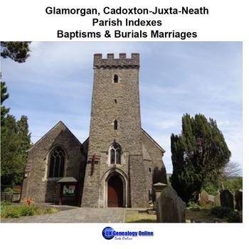 Glamorgan Cadoxton-Juxta-Neath Parish Indexes