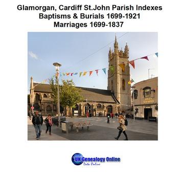 Glamorgan, Cardiff St John The Baptist Parish Indexes