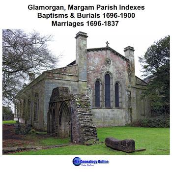 Glamorgan, Margam Parish Indexes