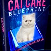 Cat Care Blue Print