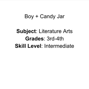 Boy + Candy Jar