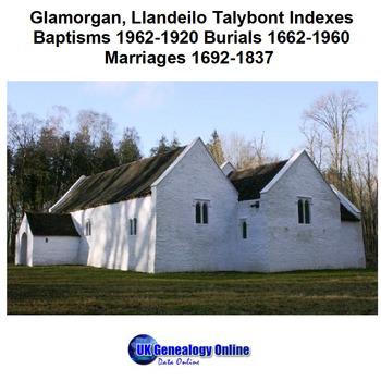 Llandeilo Talybont Parish Register Indexes