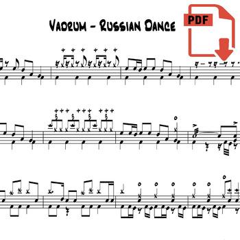 Vadrum - Russian Dance (Official Drum Transcription)