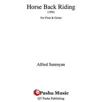 Horse Back Riding for Flute and Guitar