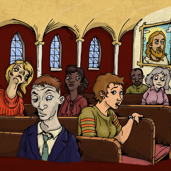 Ebook: The Church of the End-time Zombies:  A Guide to Religious Detox