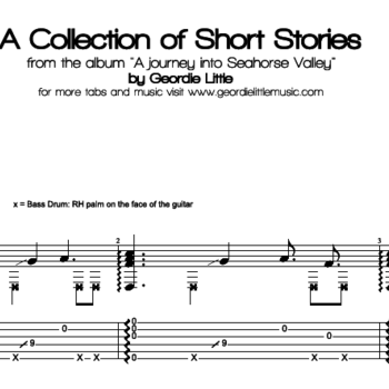 A Collection of Short Stories (Tab/Notation + mp3)