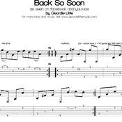 Back So Soon (Tab/Notation)