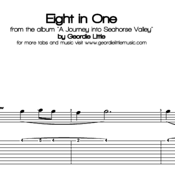 Eight in One (8-String Guitar Tab/Notation + mp3)