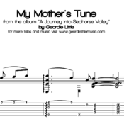 My Mother's Tune (Tab/Notation + mp3)