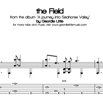the Field (Tab/Notation + mp3)