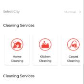Urban Clap Clone ( Clap App ) - Framework7