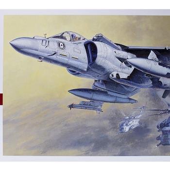 AV-8B Model: How to build Hasegawa's AV-8B II Plus Model