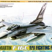 F-16C Model: How to build Tamiya's F-16C Model (Block 25/32) ANG