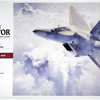F-22 Model: How to build Hasegawa's F-22 Raptor Model