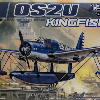 OS2U Model: How to build Kitty Hawk's OS2U Kingfisher Model
