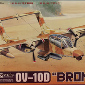OV-10D Model: How to build Kitty Hawk's OV-10D Bronco Model