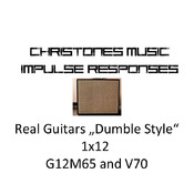 """Real Guitars """"Dumble Style"""" 1x12 with G12M65 and V70 for Two Notes Gear (tur and wave files)"""