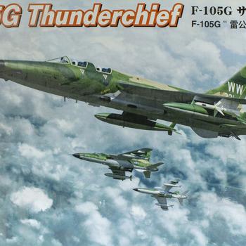 F-105G Model: How to build the F-105G Thunderchief from Hobby Boss
