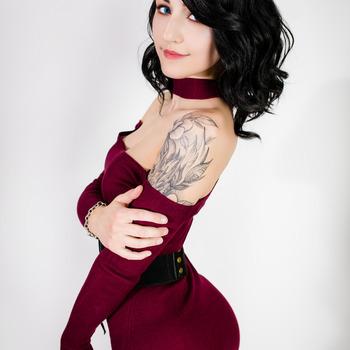 Red xmas dress