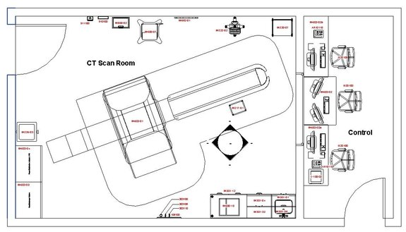 Ct Scan Room Bim1modeler Ct Scan Room Revit Model All