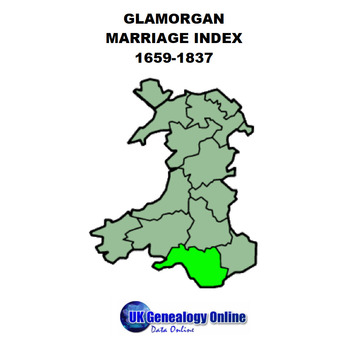 Glamorgan Marriages Index 1569-1837