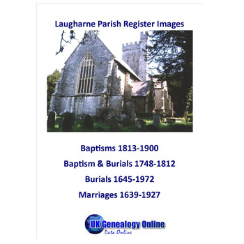 Laugharne Parish Register Images