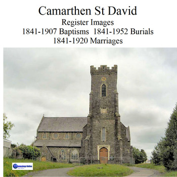 Carmarthen St Davids Register Images