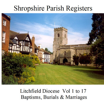 Shropshire Parish Registers - Litchfield Diocese