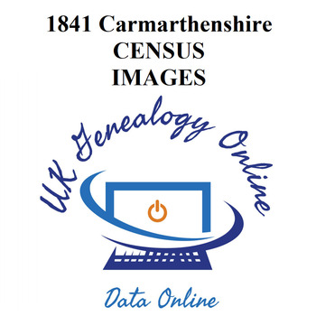 1841 Carmarthenshire Census Images