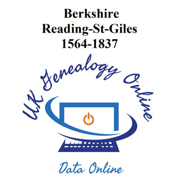 Berkshire Reading-St-Giles-1564-1837
