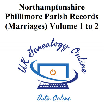 Northamptonshire Phillimore Parish Records (Marriages) in 2 Volumes