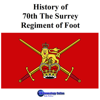 History of 70th The Surrey Regiment of Foot