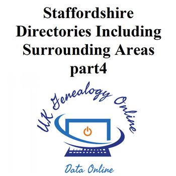 Staffordshire-Directories Including Surrounding Areas part4