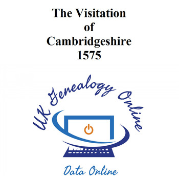 Cambridgeshire Visitations 1575