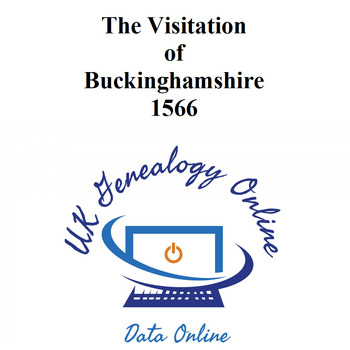 The Visitation of Buckinghamshire 1566